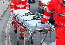 equipaggi di due ambulanze