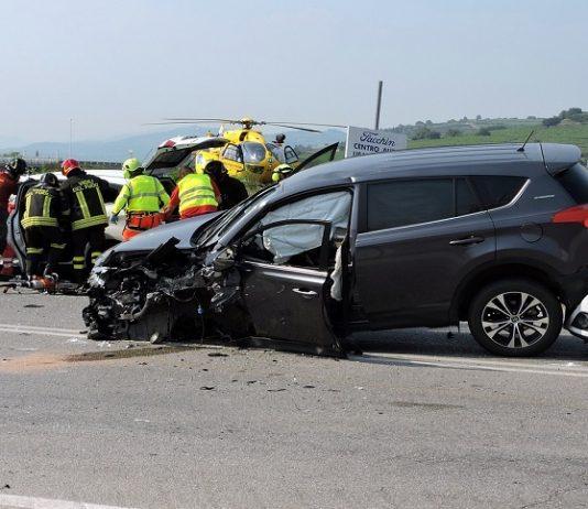 vittima di incidente stradale
