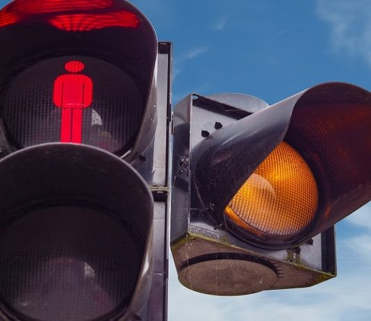 malfunzionamento della palina semaforica