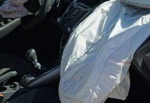 scoppio dell'airbag