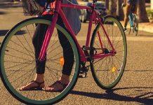 caduta in bici