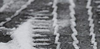 strada ghiacciata