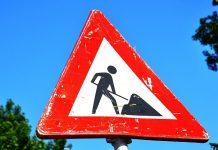 divieto di transito per lavori